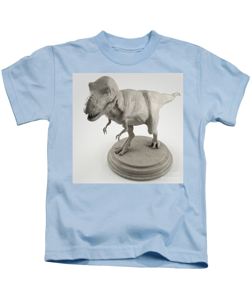 Animal Kids T-Shirt featuring the photograph Dinosaur Tyrannosaurus by Science Picture Co