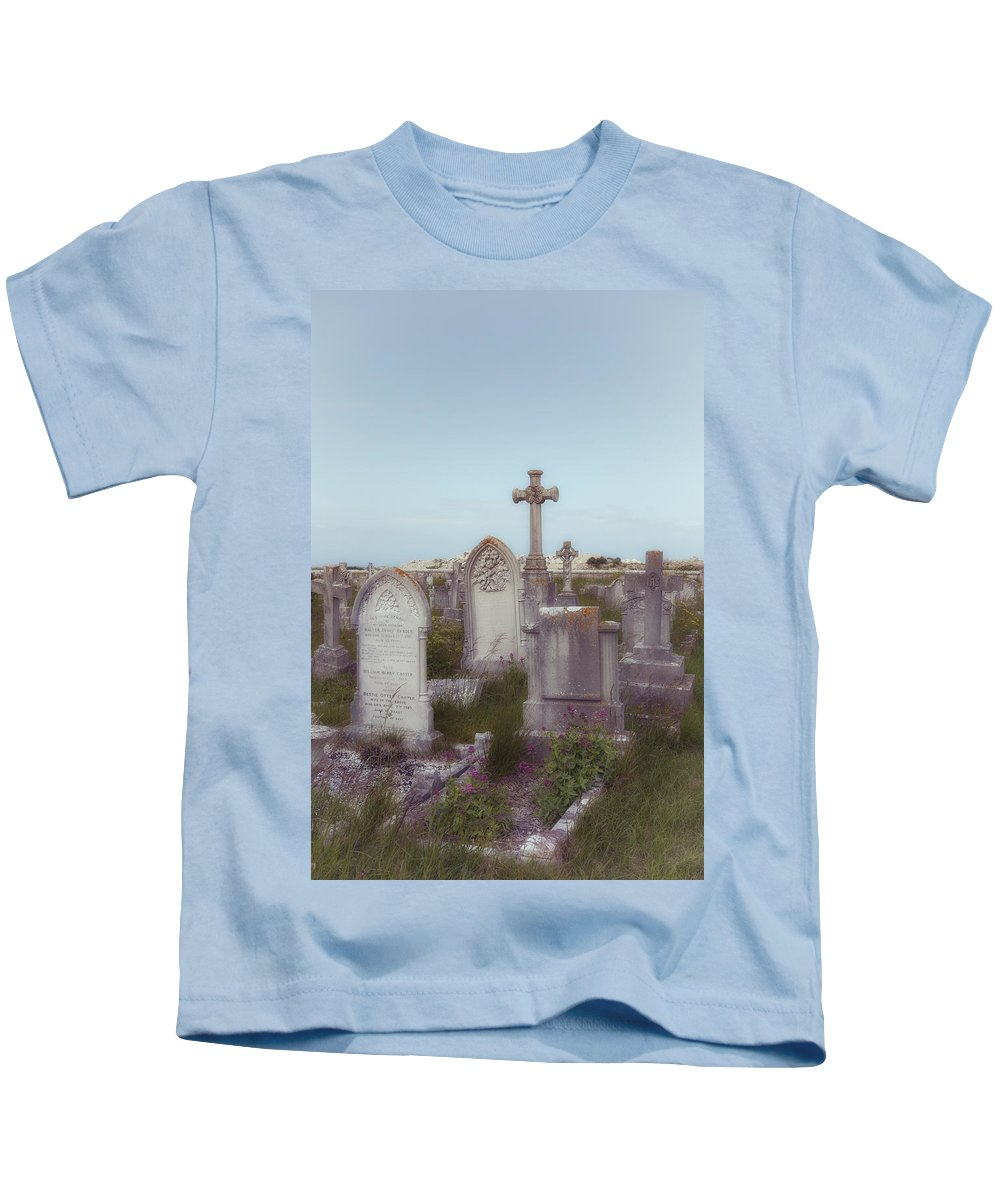 Grave Kids T-Shirt featuring the photograph Graveyard by Joana Kruse
