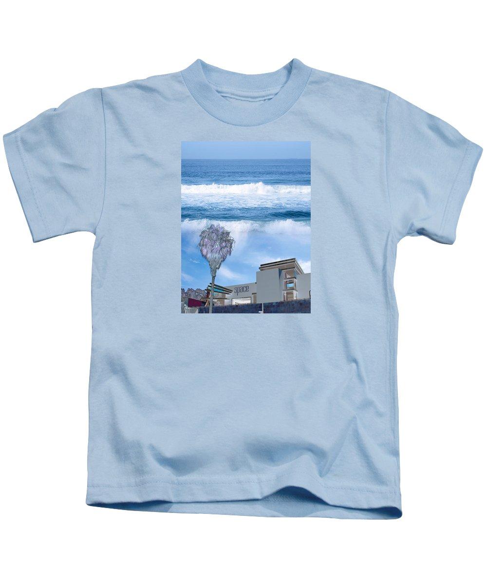 California Kids T-Shirt featuring the photograph Abbott Kinney #1 by David Thompson
