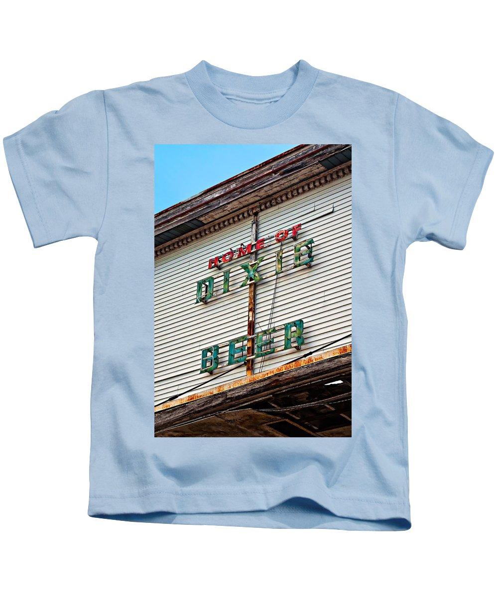 Hurricane Katrina Kids T-Shirt featuring the photograph Alas Poor Dixie by Steve Harrington