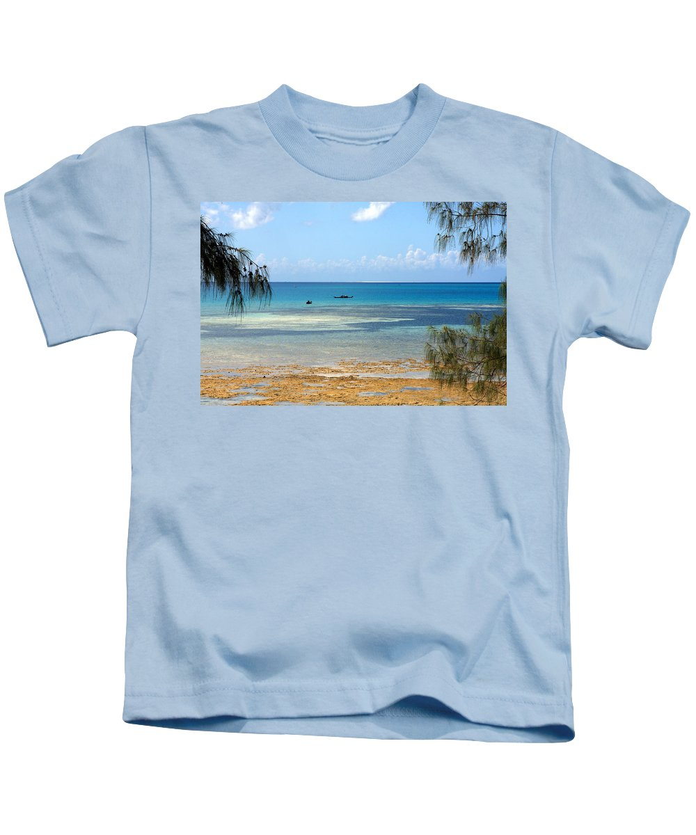 Africa Kids T-Shirt featuring the photograph An African Paradise by Aidan Moran
