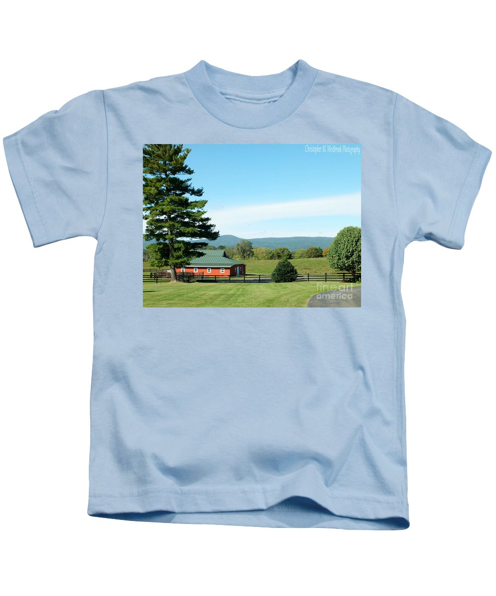Sunlight Kids T-Shirt featuring the photograph Another Sunny Day by Christopher Westbrook
