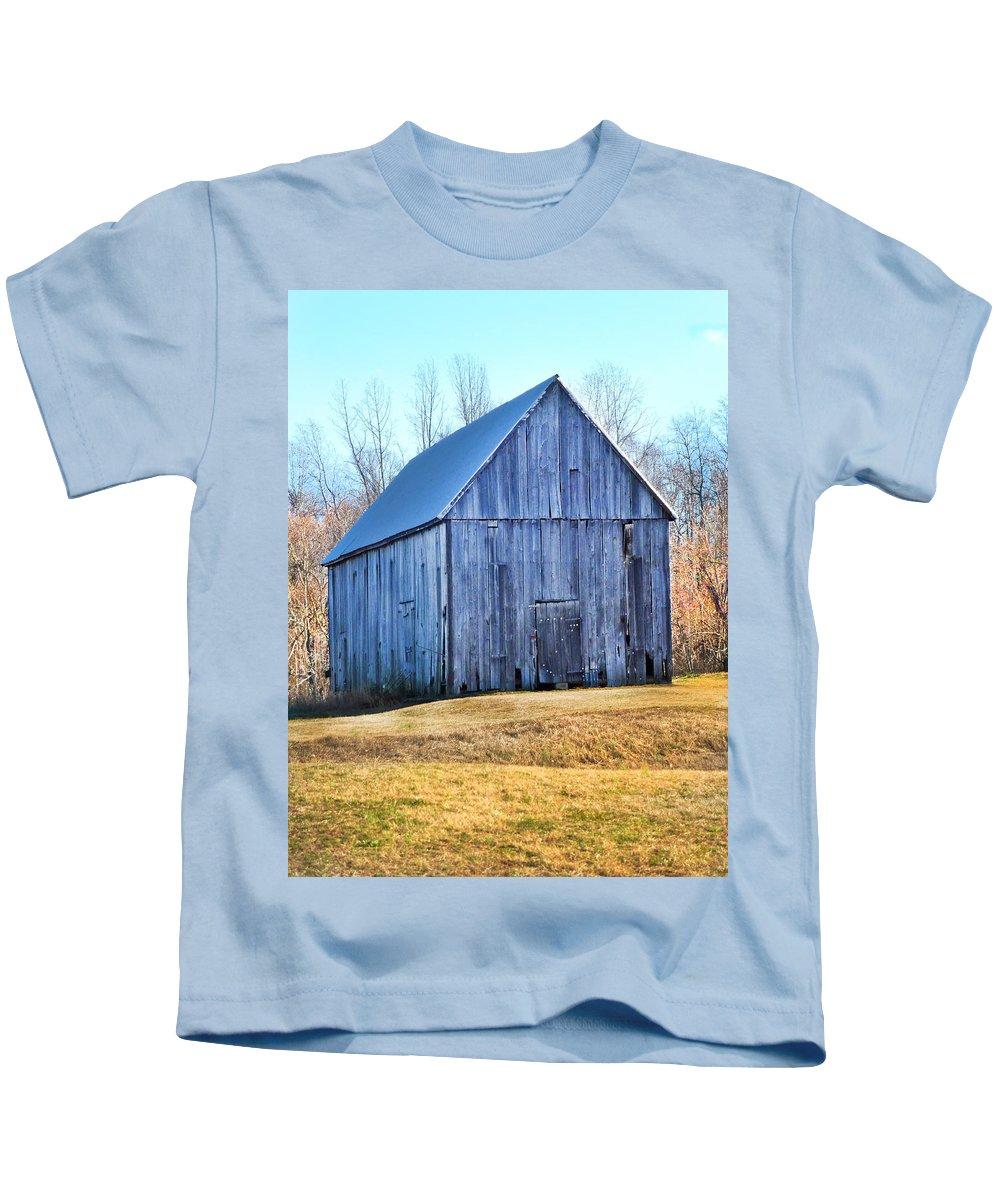 Barn Kids T-Shirt featuring the photograph Barn II by Karen Lambert
