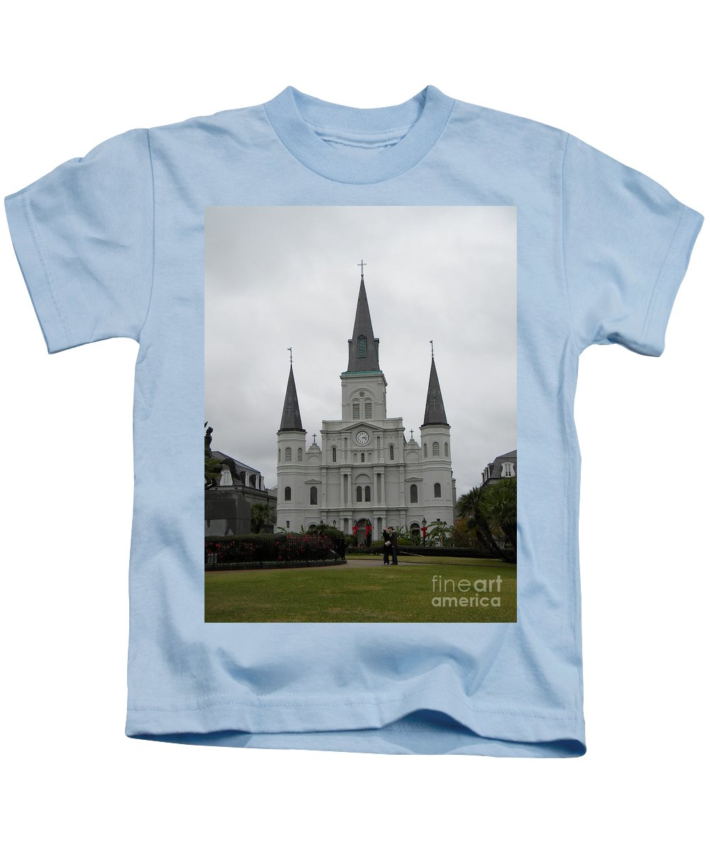 Basilica Kids T-Shirt featuring the photograph Basilica 2 by Nathanael Smith