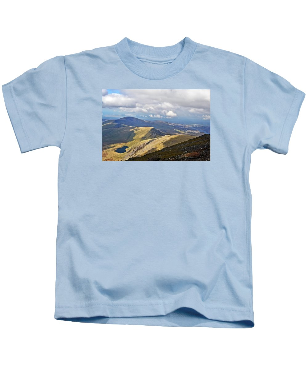 Travel Kids T-Shirt featuring the photograph Beauty Of Wales by Elvis Vaughn