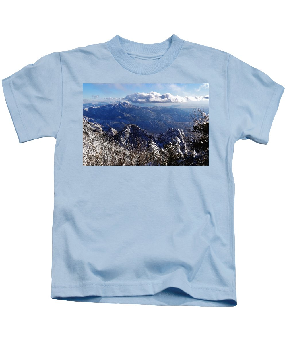 Mountains Kids T-Shirt featuring the photograph Blessed Beauty by Lois  Rivera