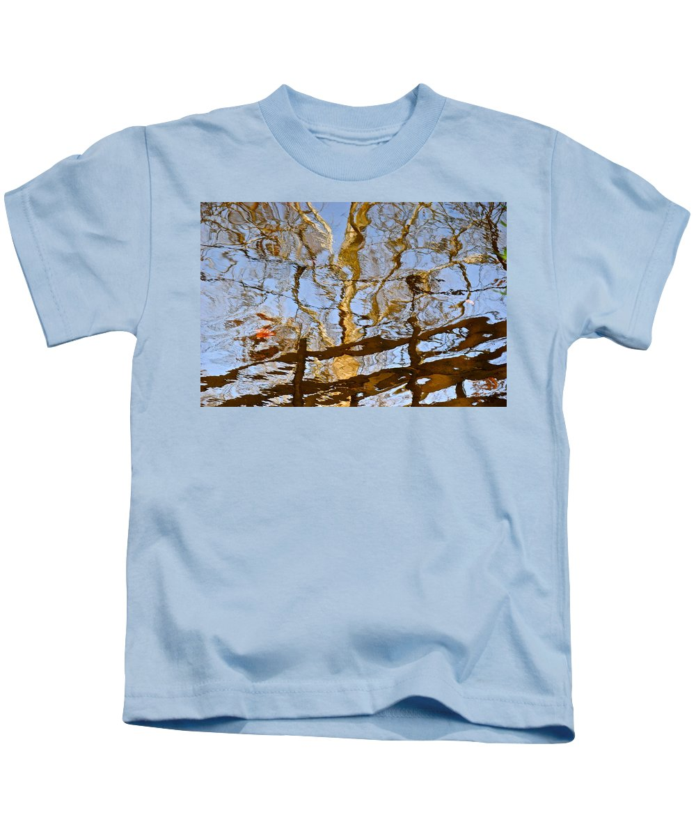 Tree Kids T-Shirt featuring the photograph Blurred Reality by Frozen in Time Fine Art Photography