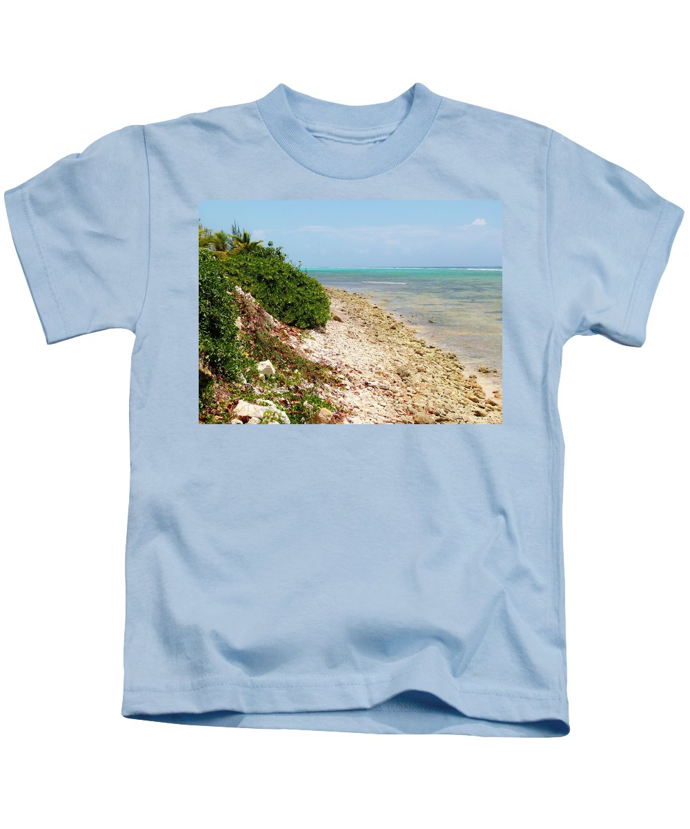 Color Kids T-Shirt featuring the photograph Breakers East Shore by Amar Sheow