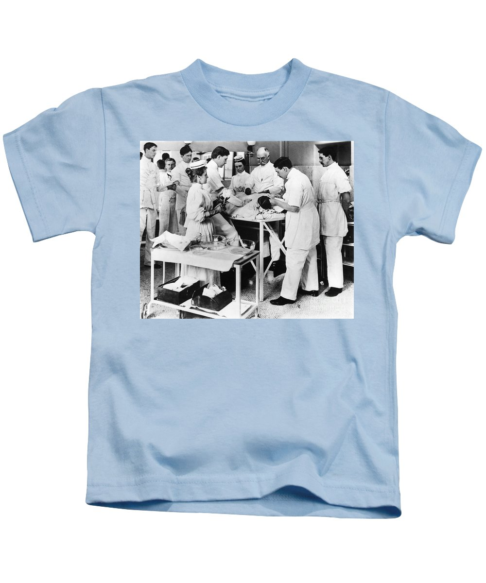 1901 Kids T-Shirt featuring the photograph Charles Mcburney by Granger