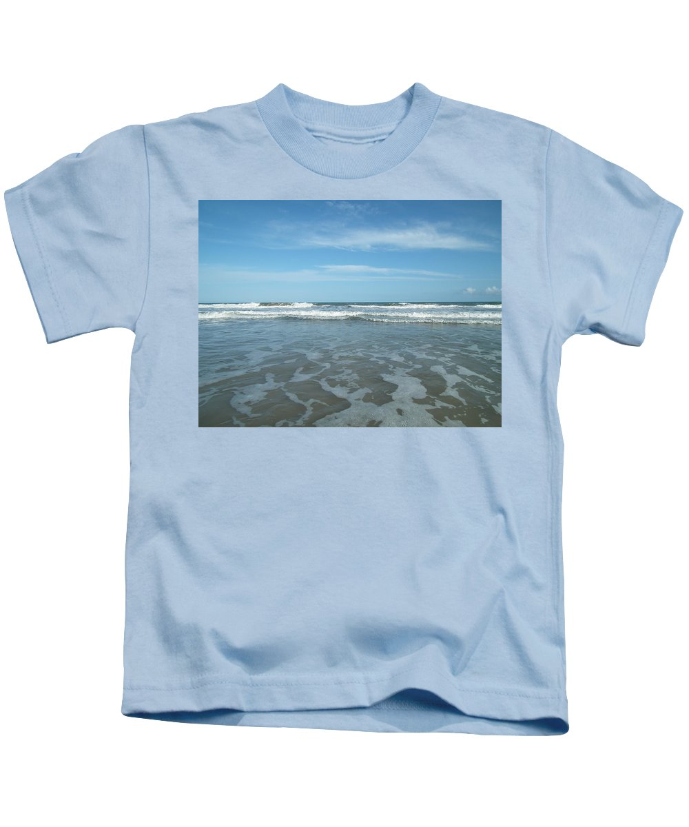 Beach Kids T-Shirt featuring the photograph Come On Jump In by Christopher Westbrook