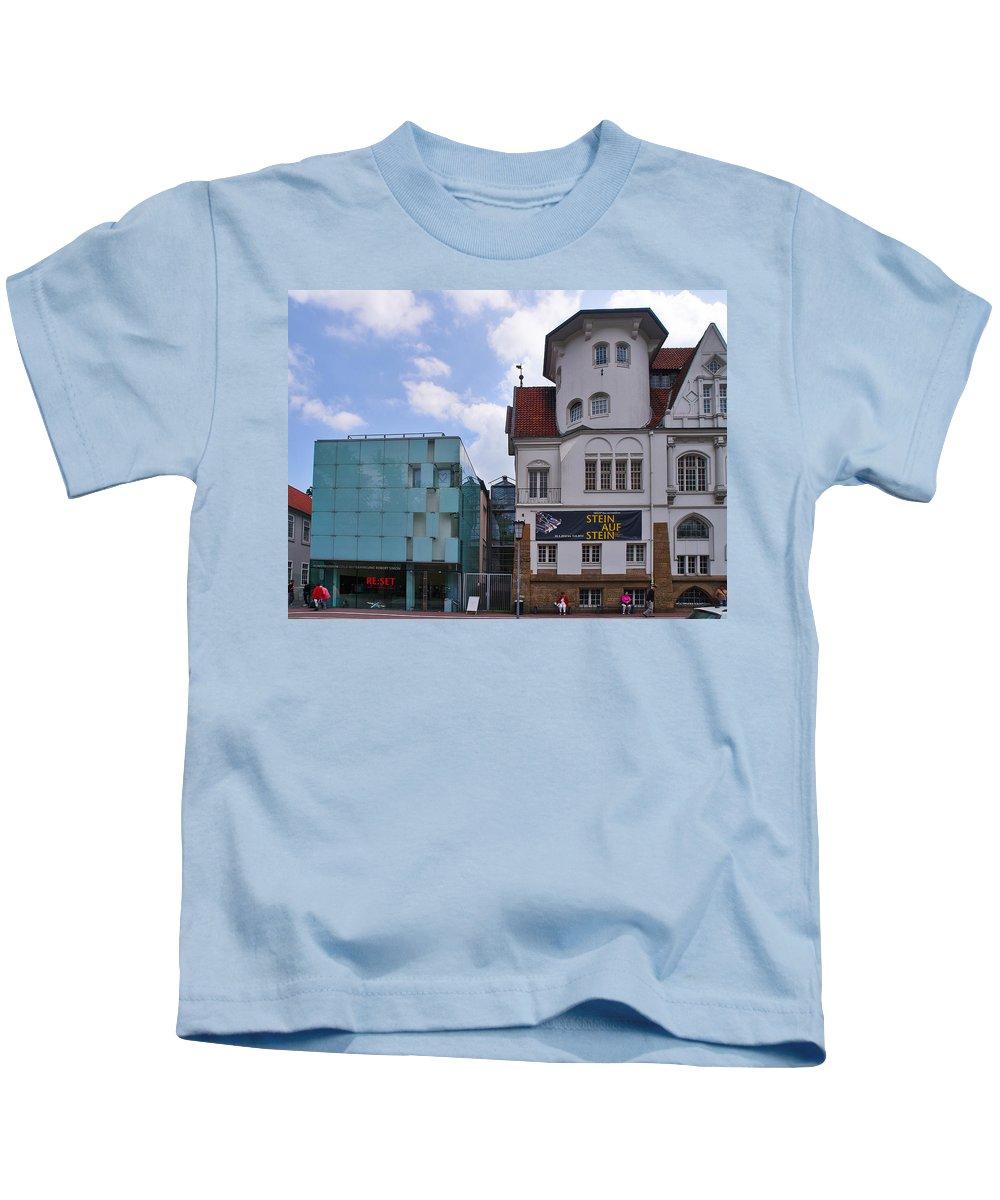 Alankomaat Kids T-Shirt featuring the photograph Contrast by Jouko Lehto