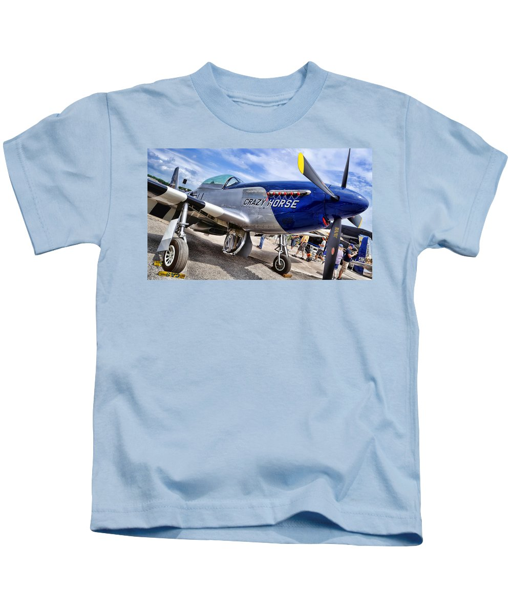 Crazy Kids T-Shirt featuring the photograph Crazy Horse by David Hart