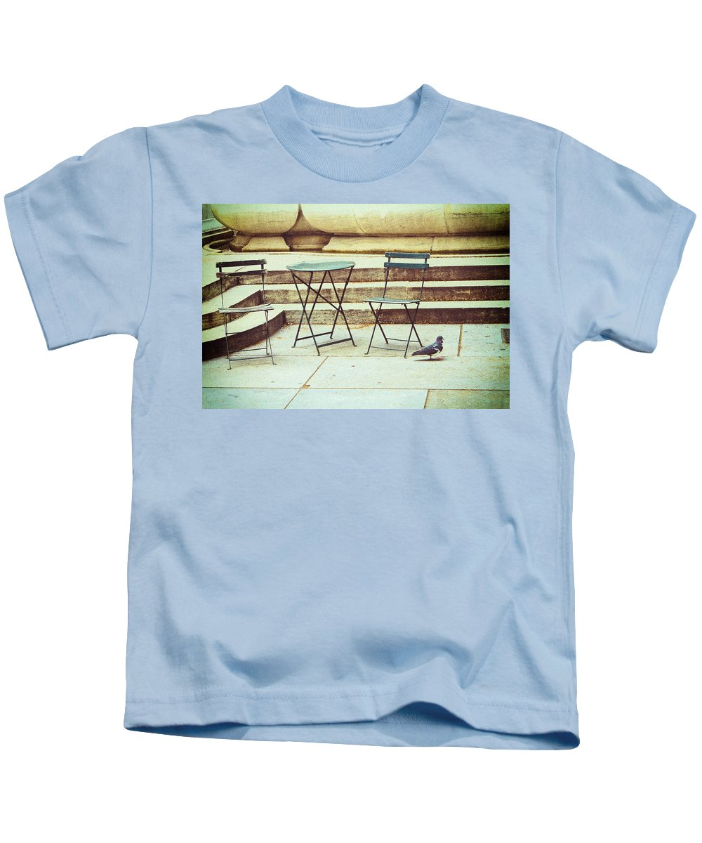 Nyc Kids T-Shirt featuring the photograph Empty by Karol Livote