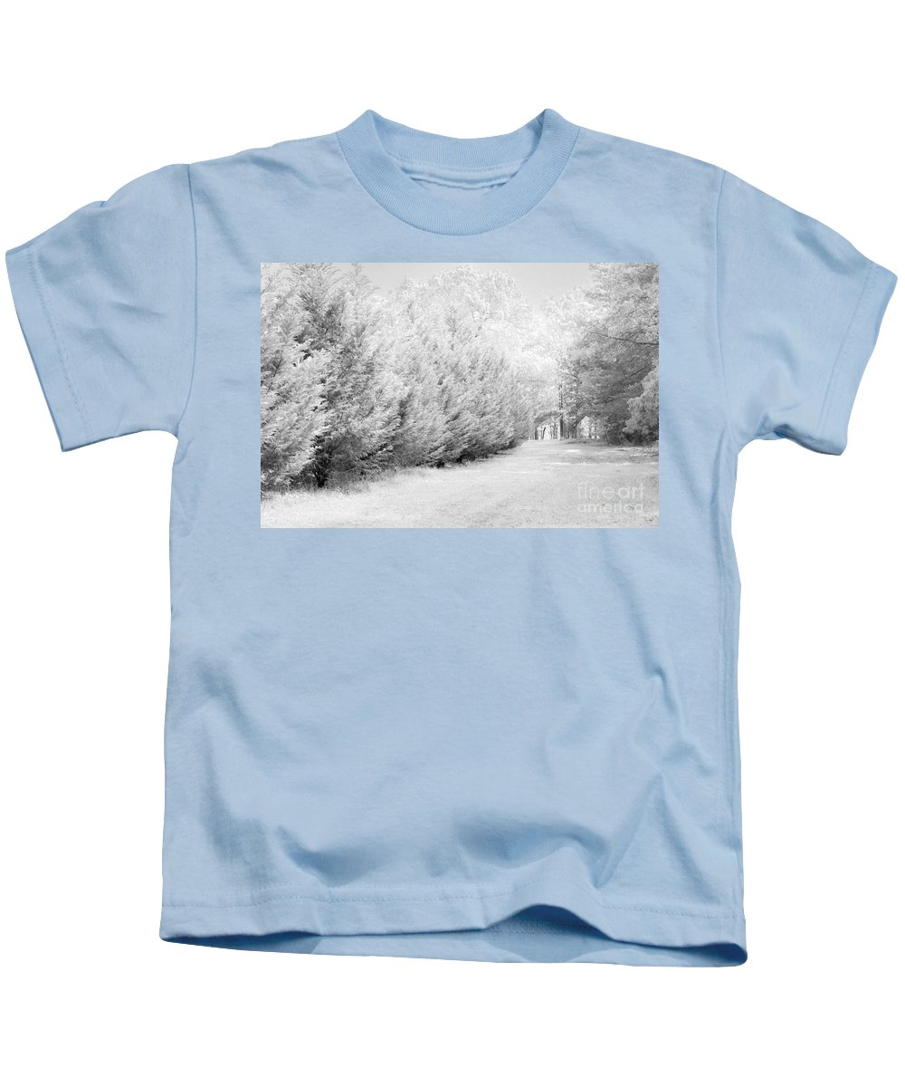 Fence Kids T-Shirt featuring the photograph Fence by Carolina Mendez
