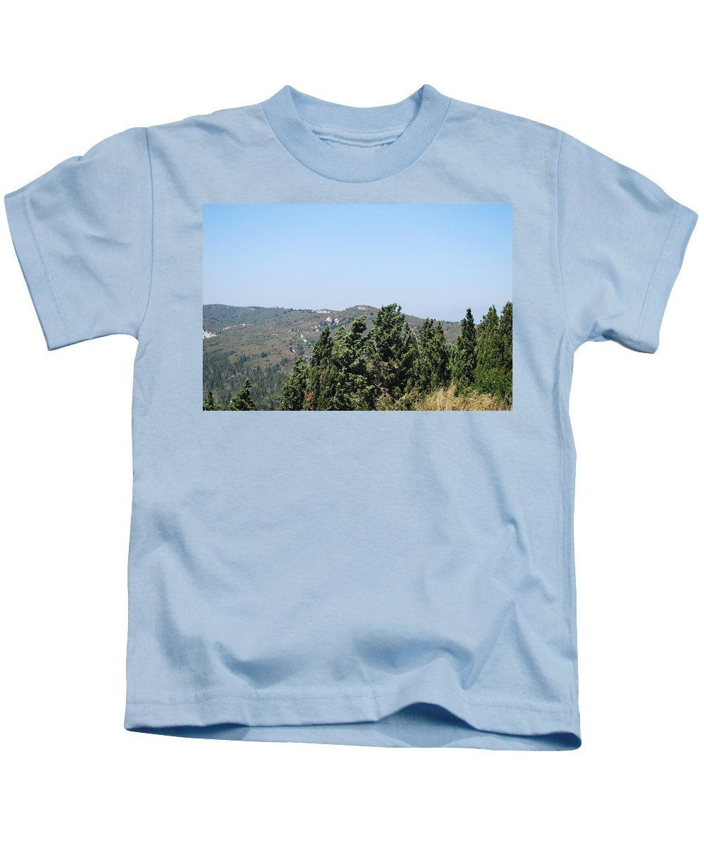 Filakio Kids T-Shirt featuring the photograph Filakio by George Katechis
