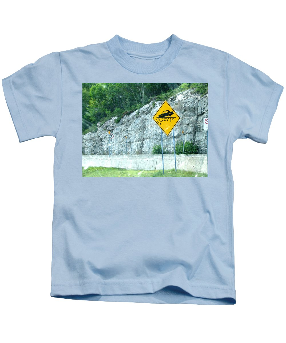Kids T-Shirt featuring the photograph Hummm Attention To ...lolllllllllllll by Line Gagne