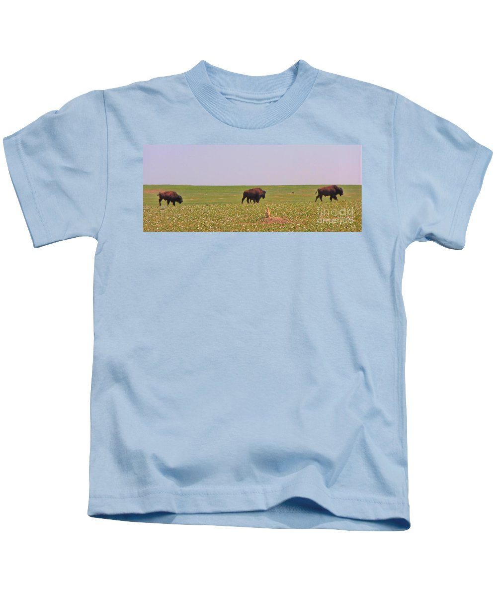 I Love A Parade Kids T-Shirt featuring the photograph I Love A Parade by John Malone