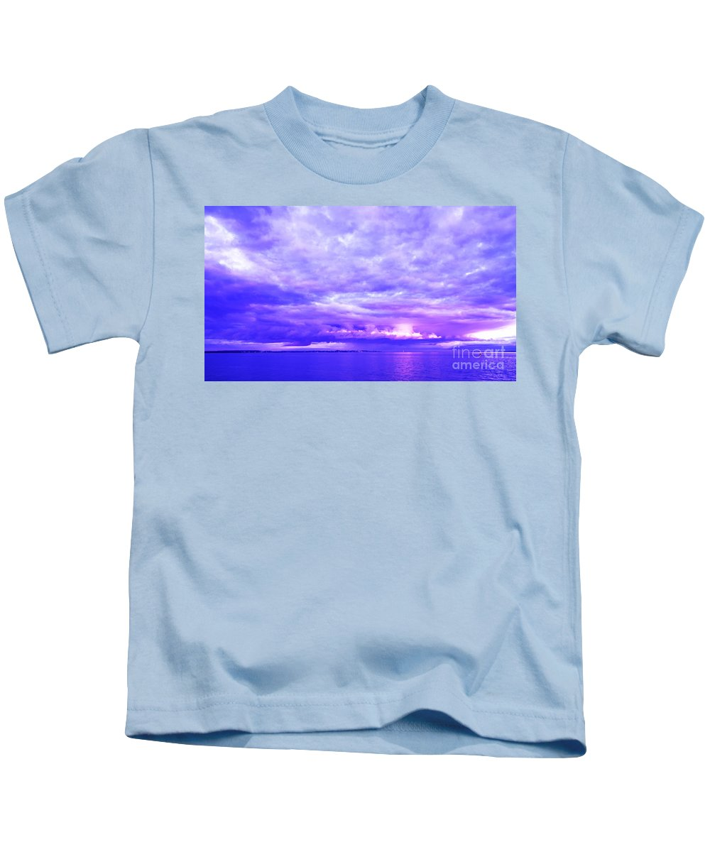 Hill Kids T-Shirt featuring the photograph Impending Weather by Joe Geraci