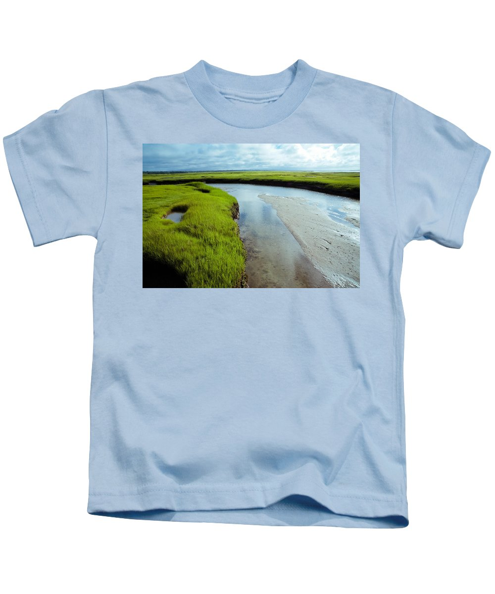 Cape Cod Kids T-Shirt featuring the photograph It Is Round... by Zina Zinchik