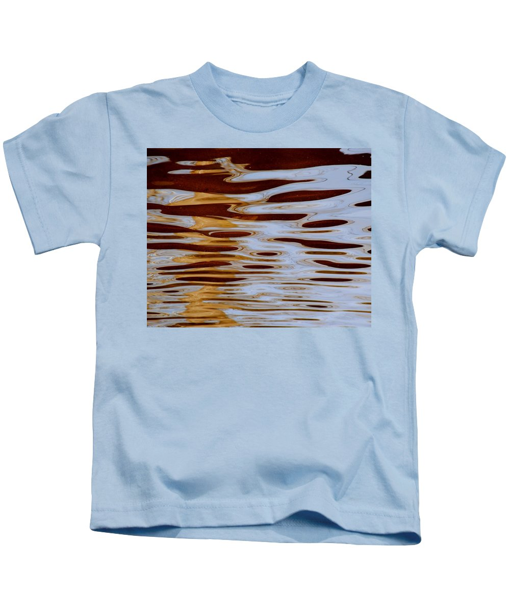 Abstract Kids T-Shirt featuring the photograph It Is What It Is by Frozen in Time Fine Art Photography