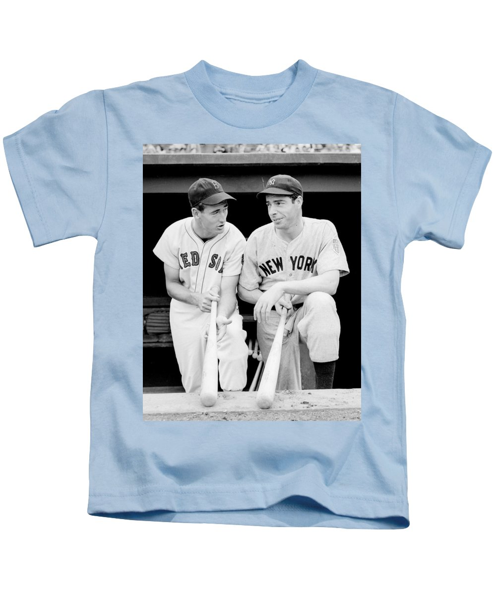 new arrival 0ce59 10e9d Joe Dimaggio And Ted Williams Kids T-Shirt