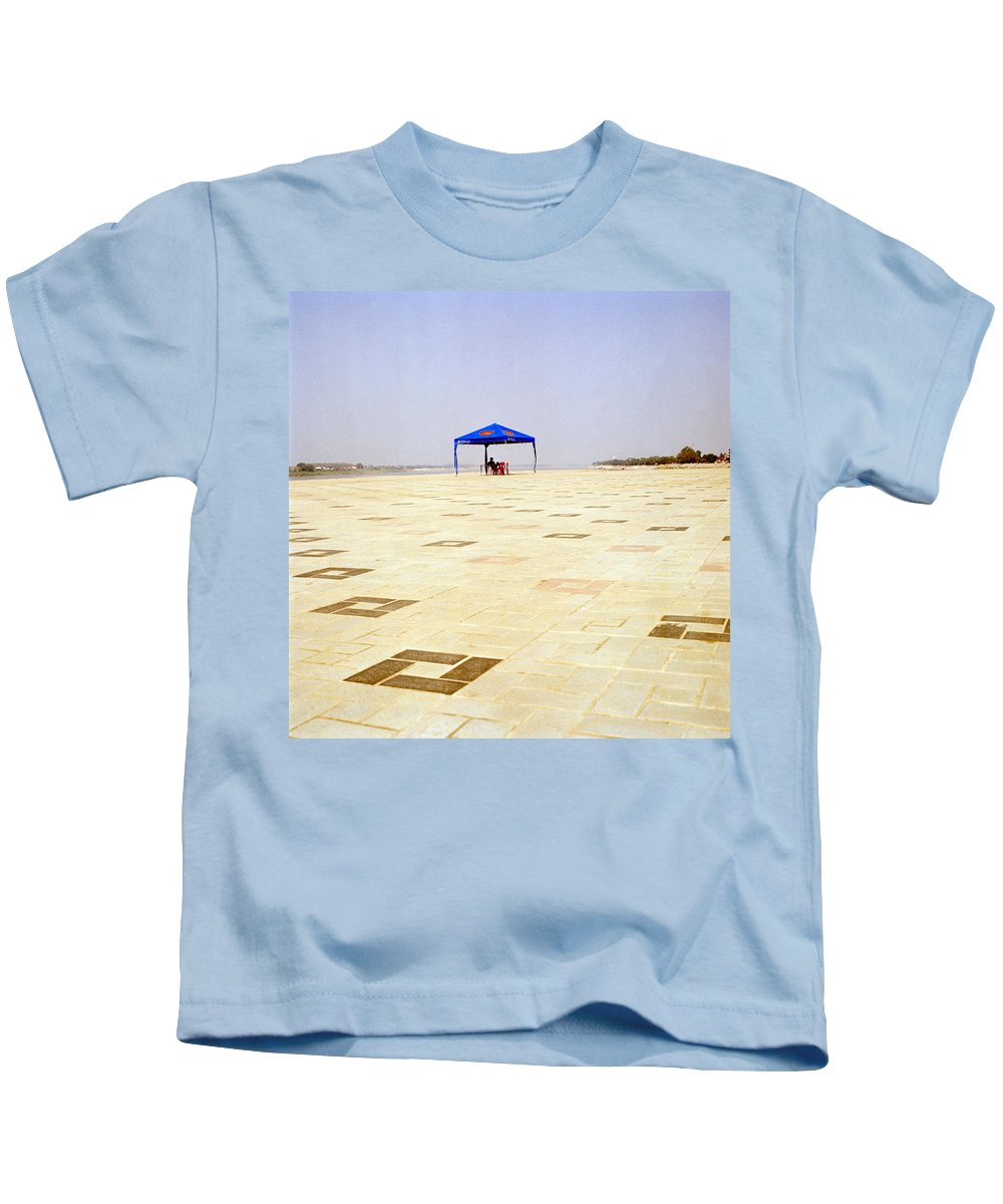 Asia Kids T-Shirt featuring the photograph Laos by Shaun Higson