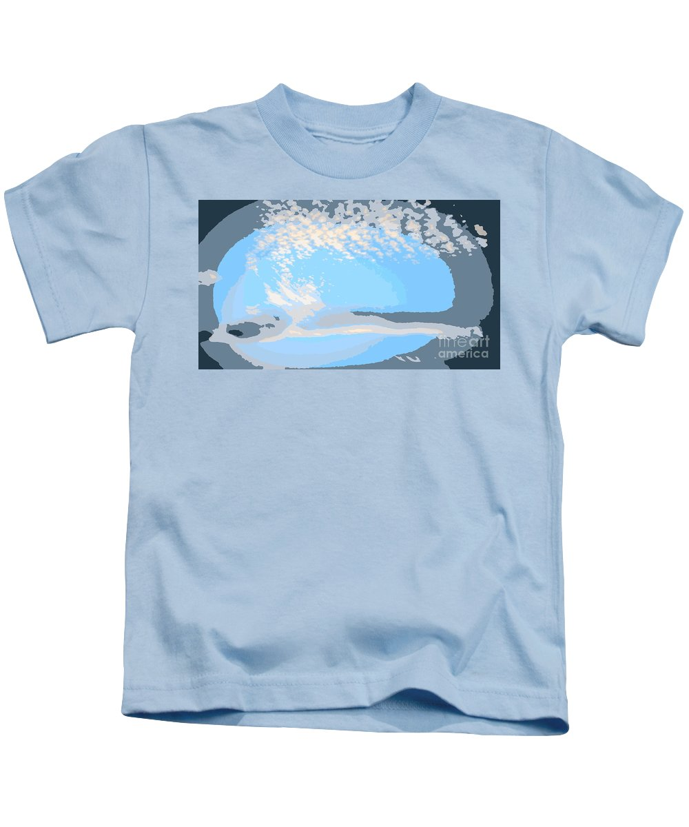 Abstract Kids T-Shirt featuring the photograph Let Your Spirit Fly by Sybil Staples