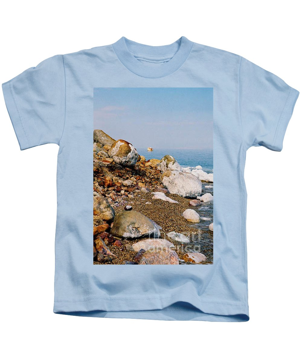 Dead Sea Kids T-Shirt featuring the photograph Lot's Wife by Kathy McClure