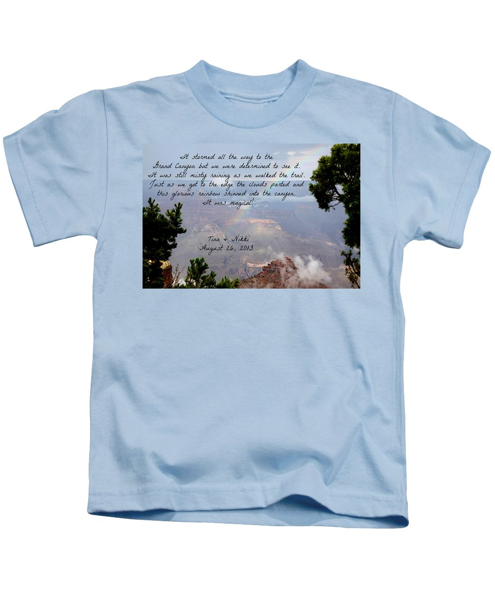 Magic Kids T-Shirt featuring the photograph Magical Moments by Tina Meador