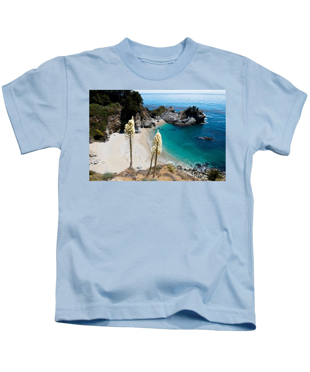 Mcway Kids T-Shirt featuring the photograph Mcway Falls by Bradley Bennett