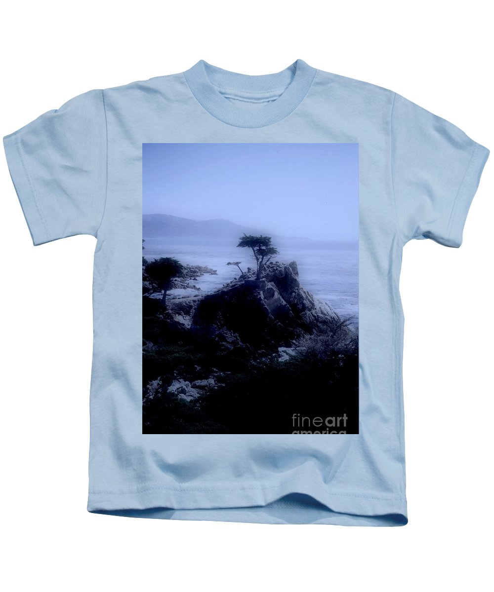 Cypress Kids T-Shirt featuring the photograph Midnight Cypress by Kathleen Struckle