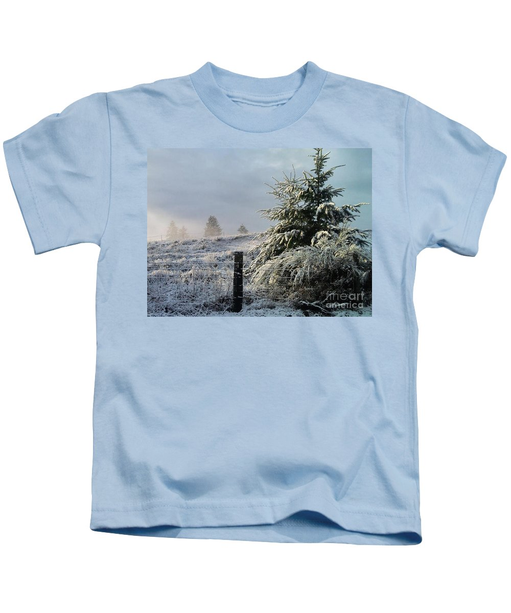 Landscape Kids T-Shirt featuring the photograph Moment Of Peace by Rory Sagner