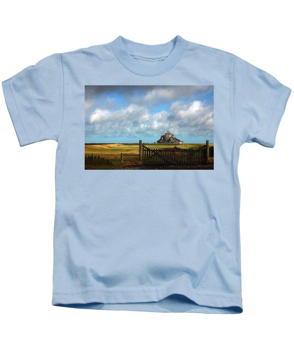 Mont Saint-michel Kids T-Shirt featuring the photograph Mont Saint-michel by RicardMN Photography