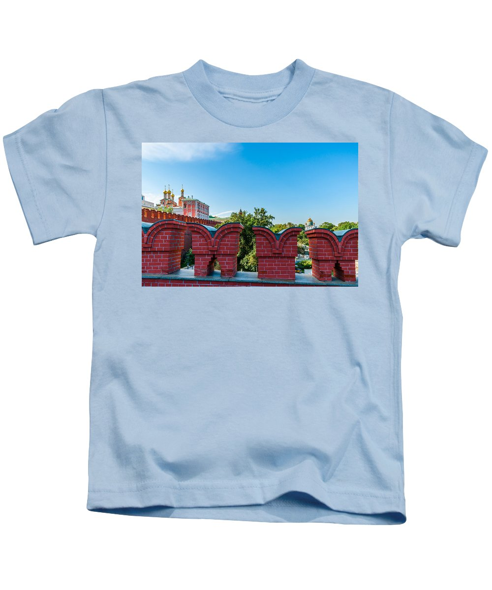Moscow Kids T-Shirt featuring the photograph Moscow Kremlin Tour - 06 Of 70 by Alexander Senin
