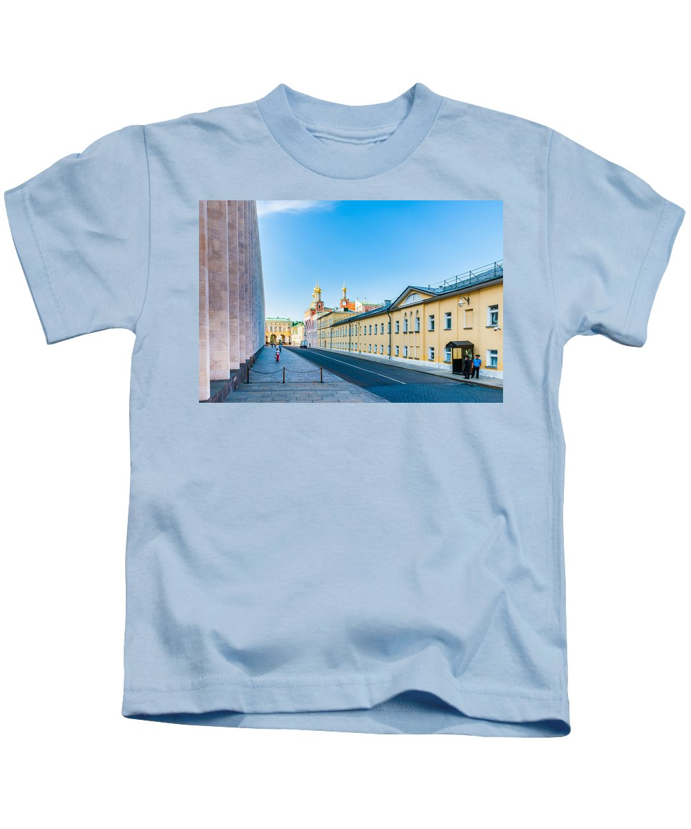 Moscow Kids T-Shirt featuring the photograph Moscow Kremlin Tour - 09 Of 70 by Alexander Senin