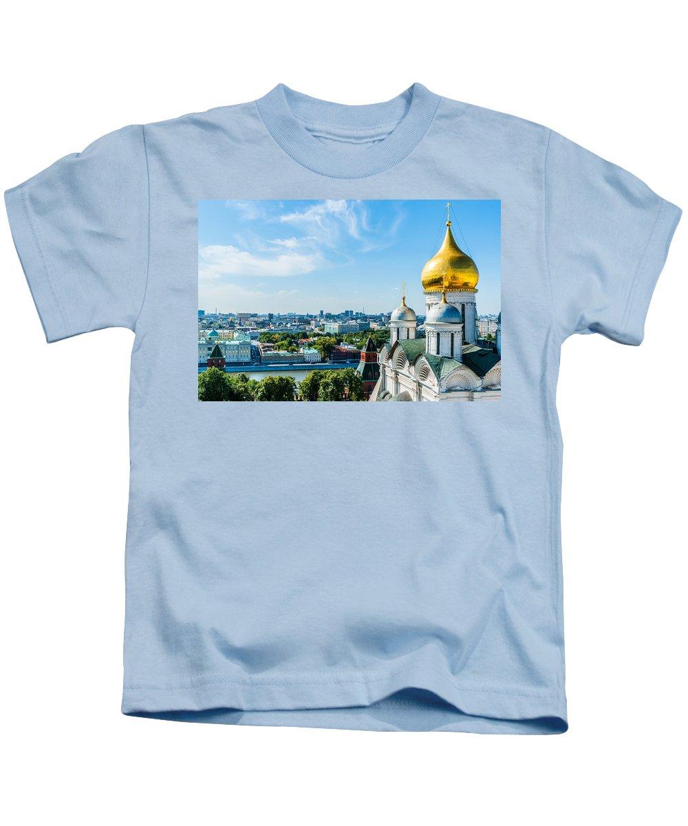 Moscow Kids T-Shirt featuring the photograph Moscow Kremlin Tour - 33 Of 70 by Alexander Senin