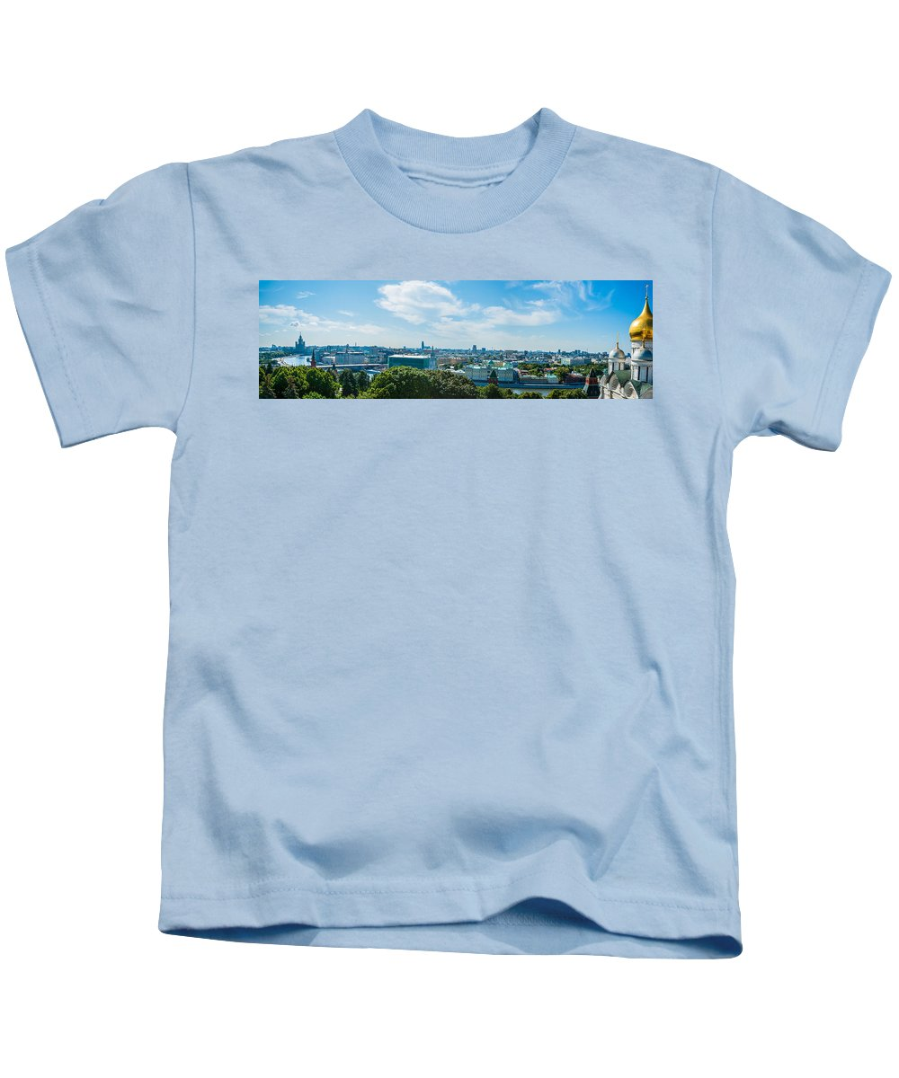 Moscow Kids T-Shirt featuring the photograph Moscow Kremlin Tour - 35 Of 70 by Alexander Senin