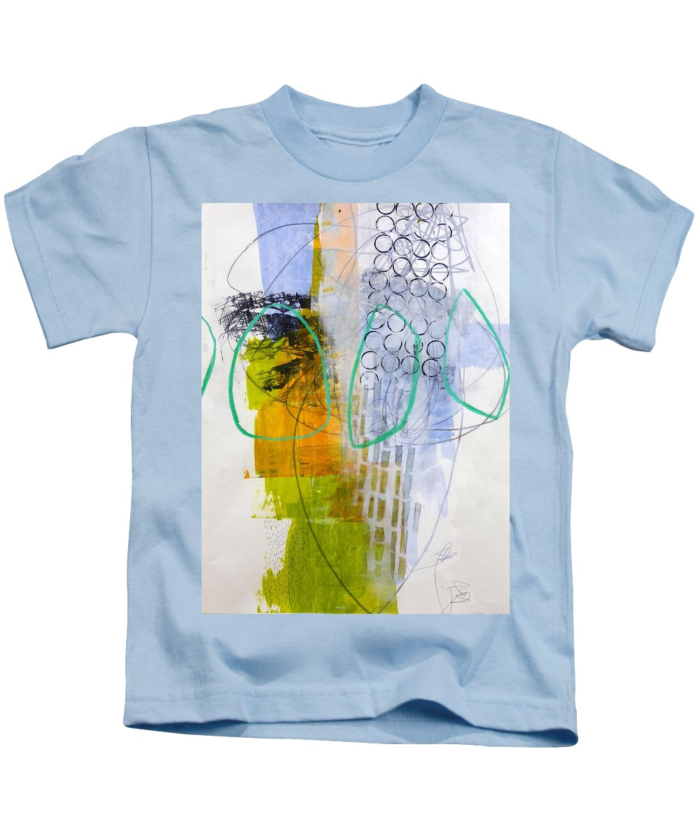 Keywords: Abstract Kids T-Shirt featuring the painting Paint Improv 7 by Jane Davies