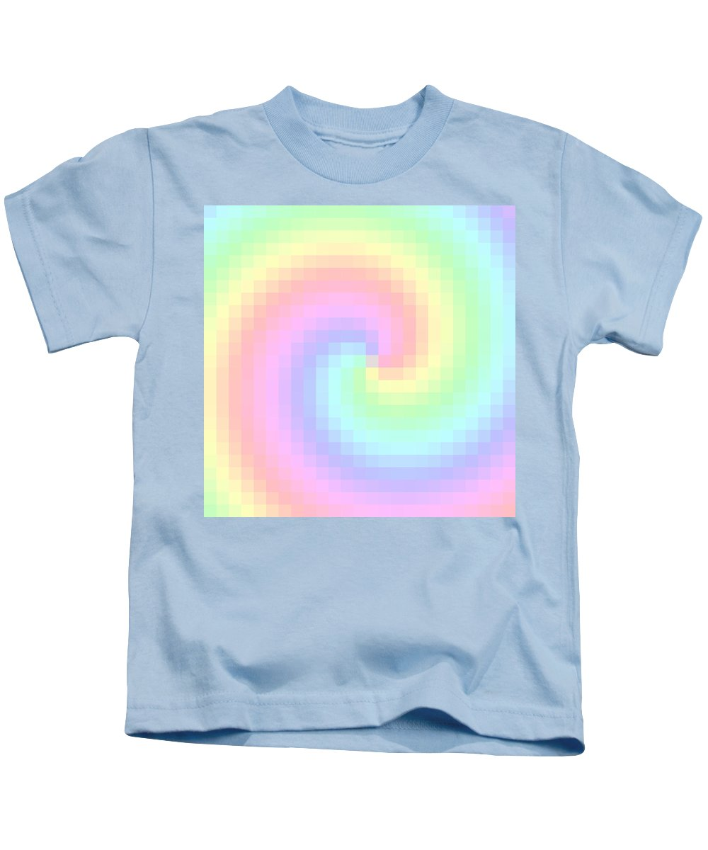 Pixel Kids T-Shirt featuring the digital art Pixel 2 by Ron Hedges