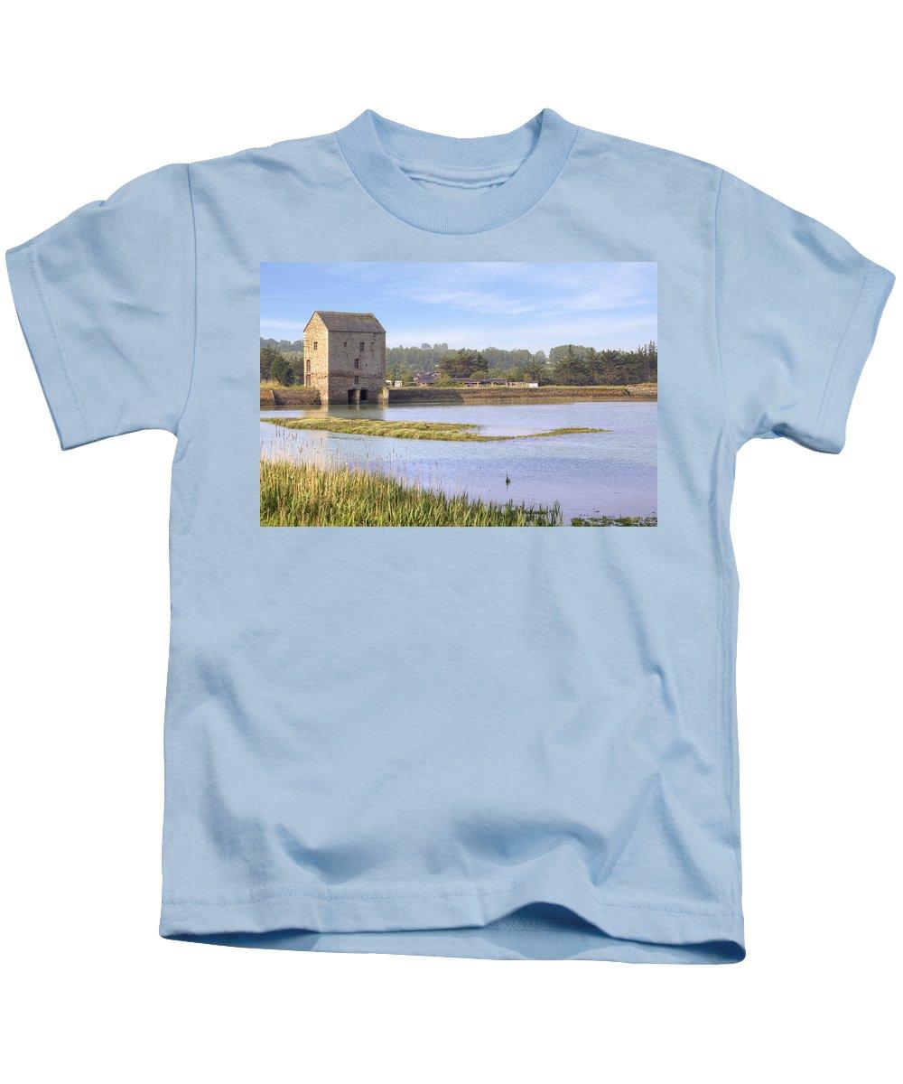 Saint-jouan-des-guerets Kids T-Shirt featuring the photograph Rance - Bretagne by Joana Kruse