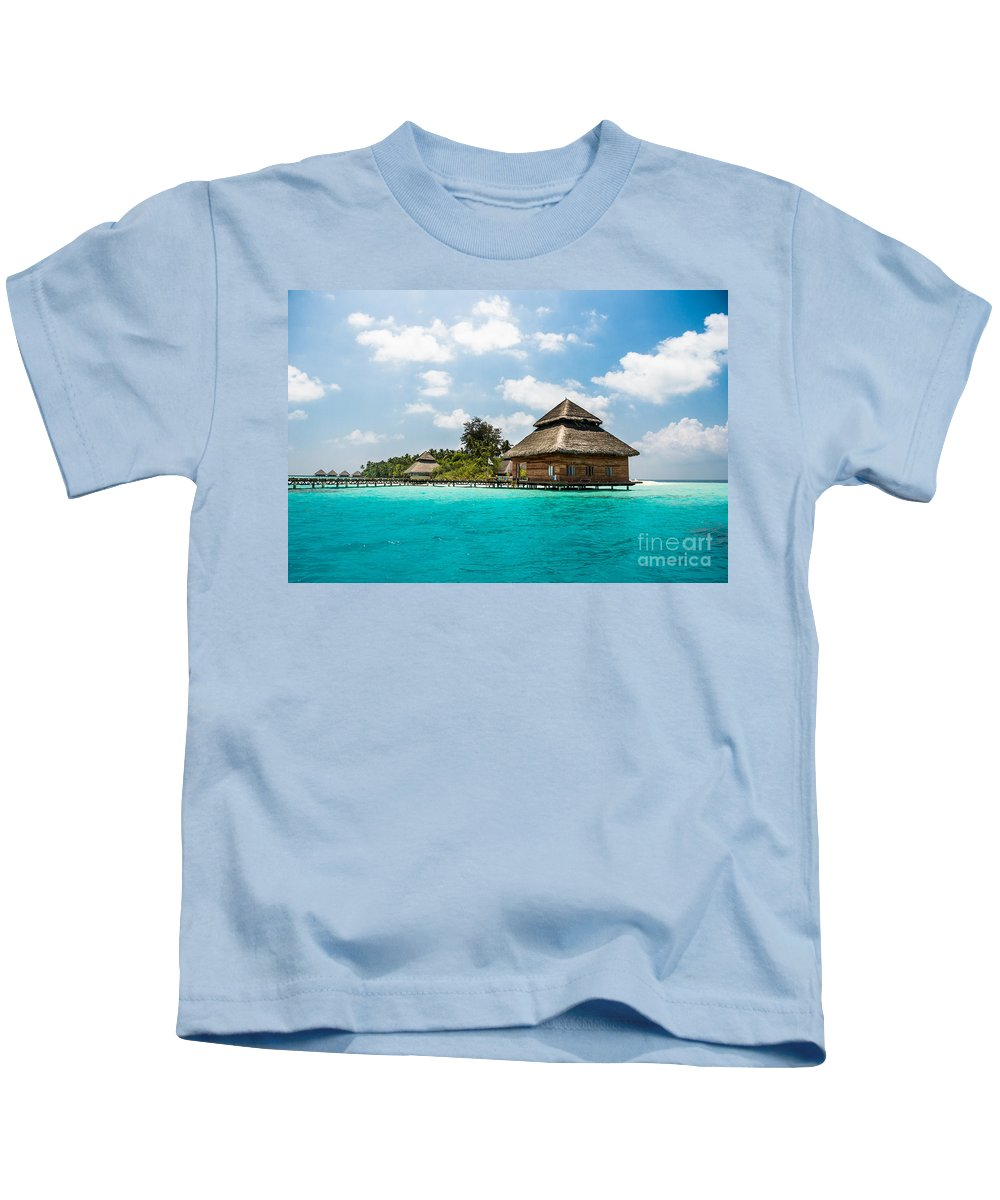 Amazing Kids T-Shirt featuring the photograph Rannaalhi by Hannes Cmarits