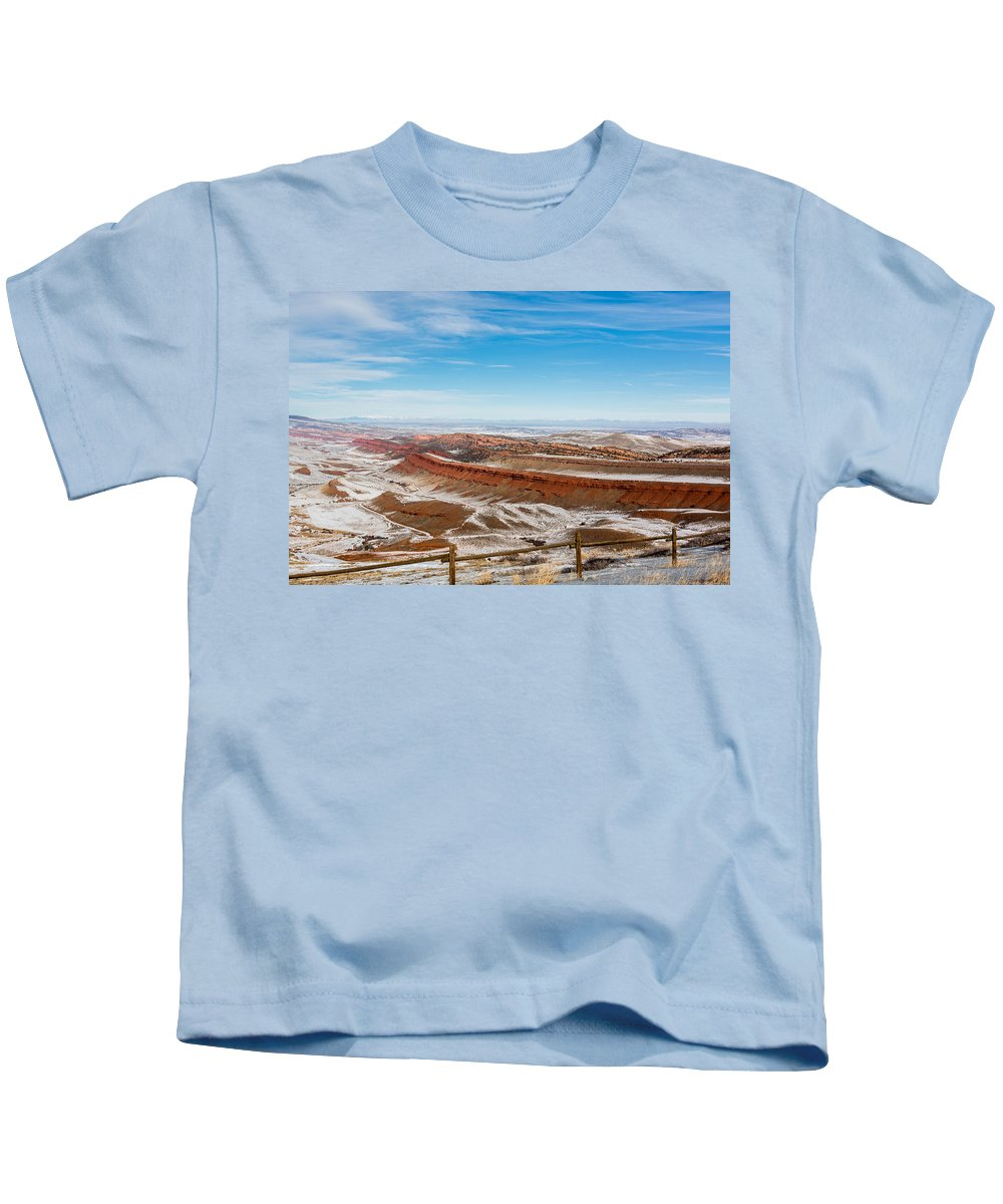 Gigimarie Kids T-Shirt featuring the photograph Red Canyon by Gina Herbert