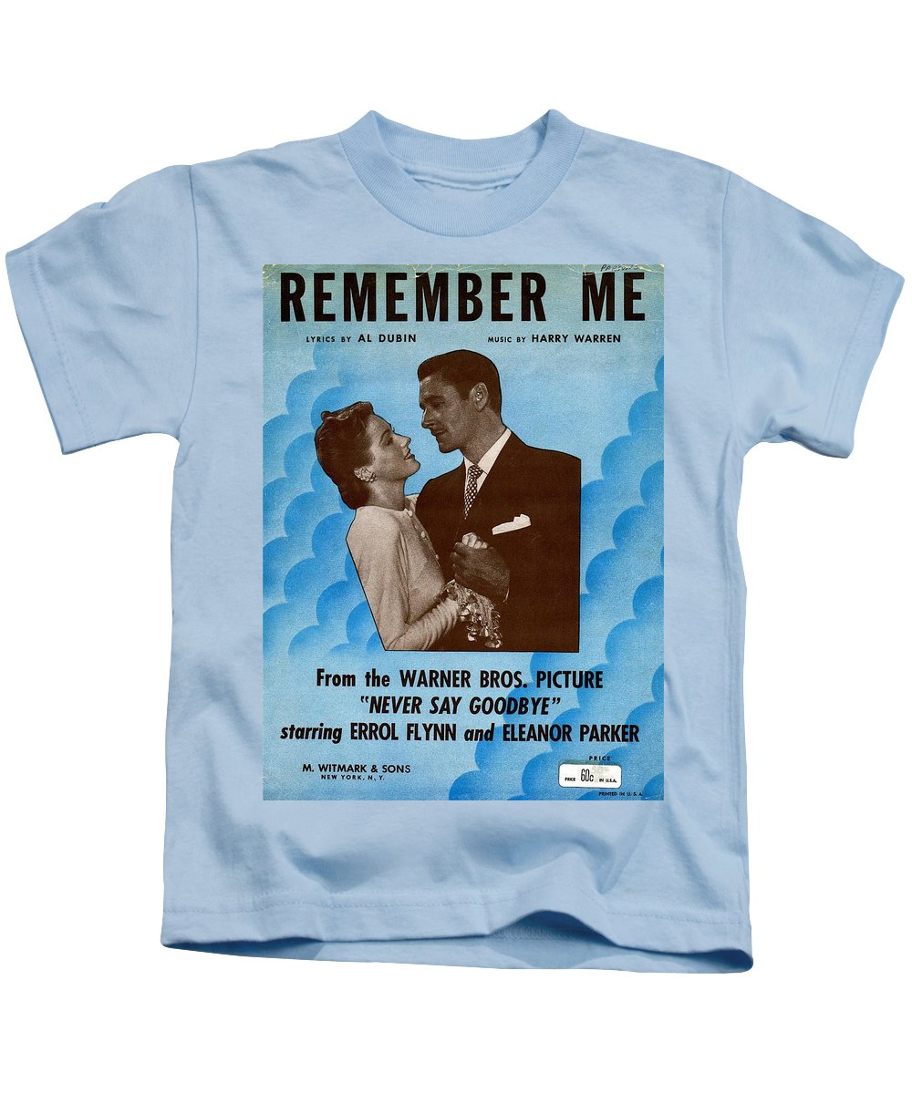 Nostalgia Kids T-Shirt featuring the photograph Remember Me by Mel Thompson