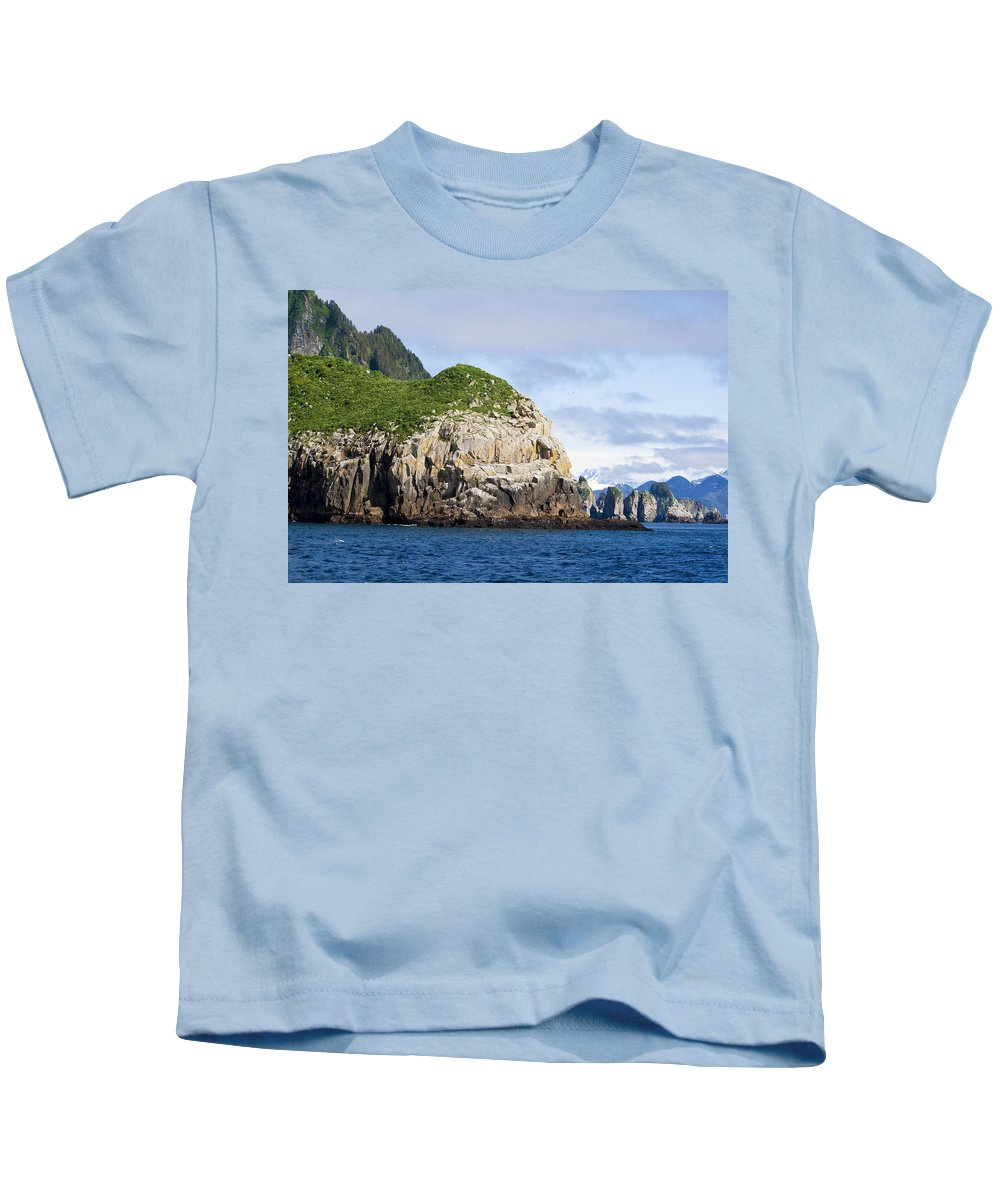 Kyle Lavey Photography Kids T-Shirt featuring the photograph Resurrection Bay 2 by Kyle Lavey
