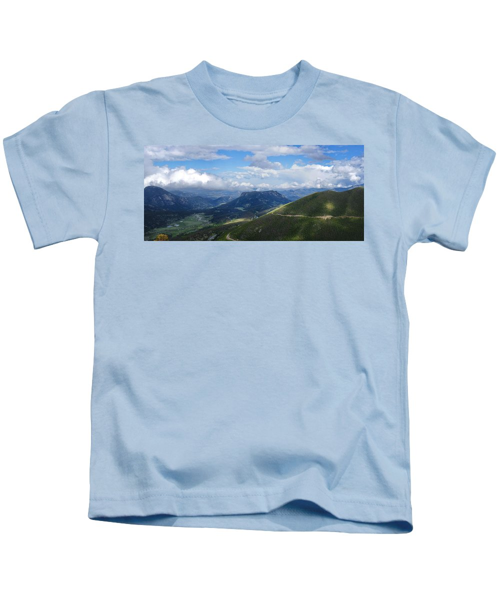 Rocky Mountain National Park Kids T-Shirt featuring the photograph Rocky Mountain National Park by Alan Hutchins