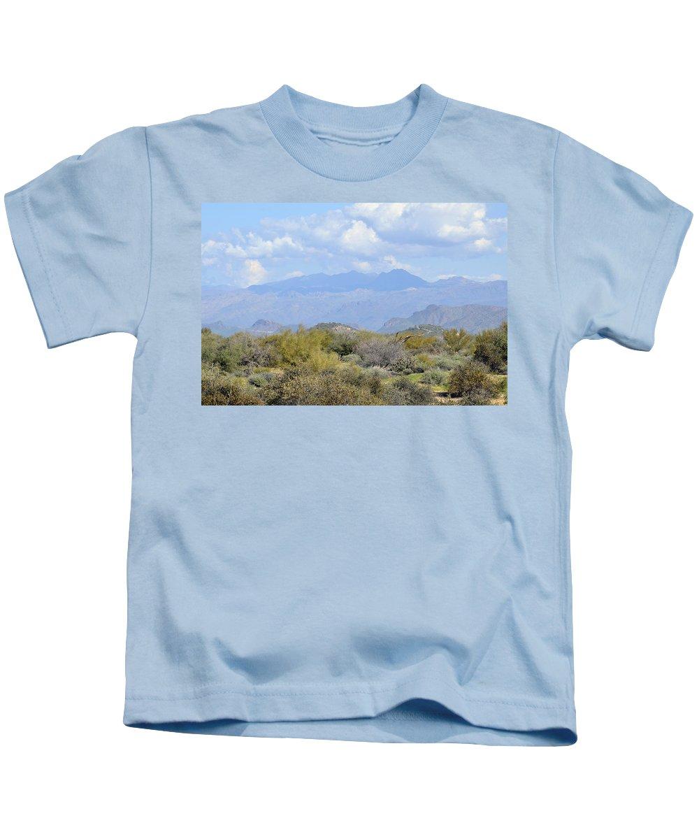 Desert Kids T-Shirt featuring the photograph Sea Of Beauty by Lynda Lehmann