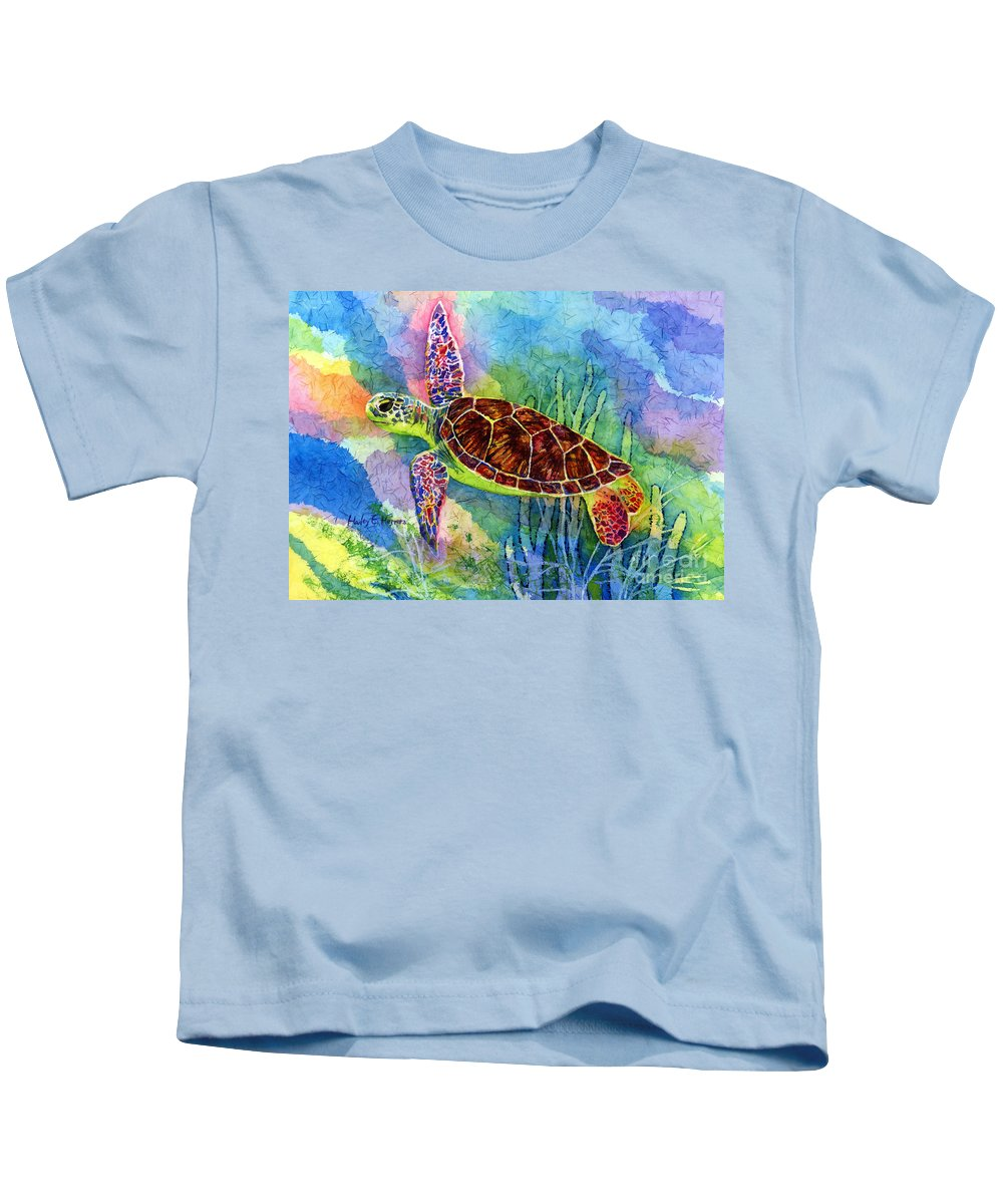 Surf Paintings Kids T-Shirts