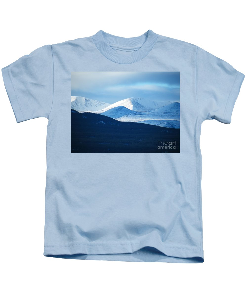 Shadow Kids T-Shirt featuring the photograph Shadow Ridge by Brian Boyle