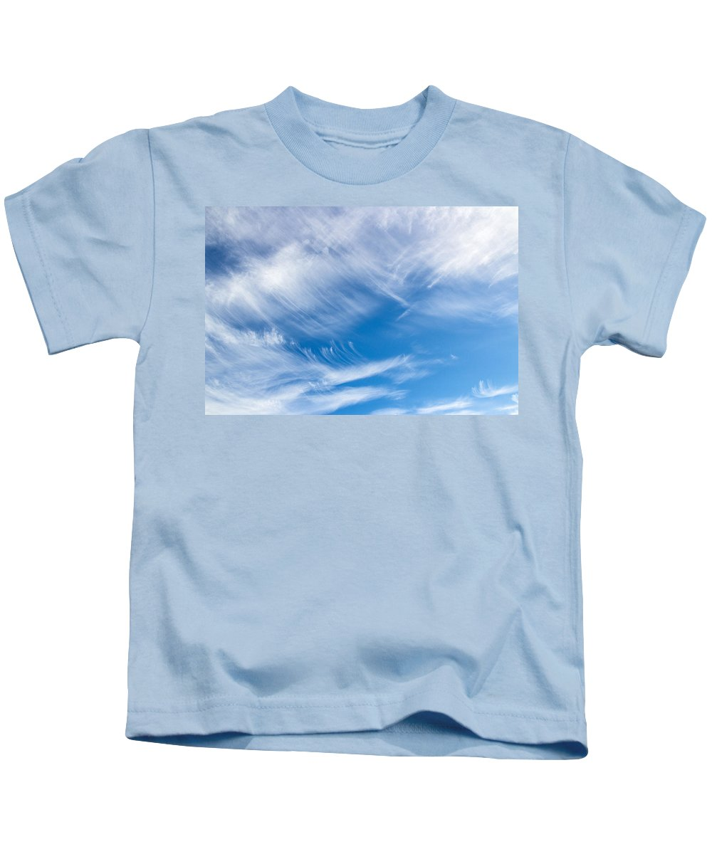 Sky Kids T-Shirt featuring the photograph Sky Painting II by Angie Schutt