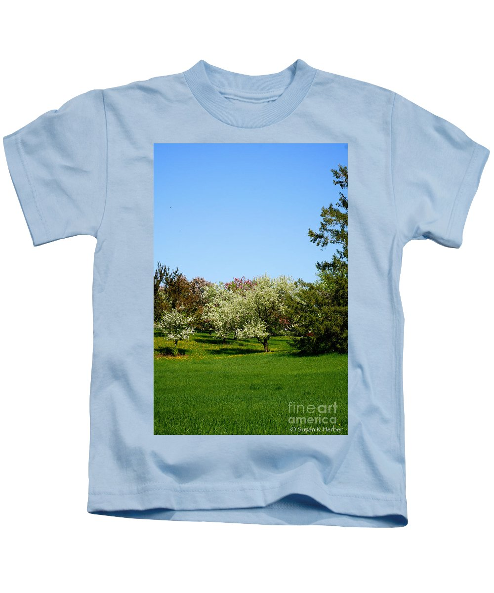 Flower Kids T-Shirt featuring the photograph Spring Meadow by Susan Herber